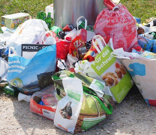 rifiuti strade Roma